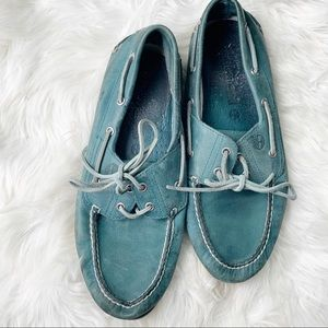 Timberland Blue Boat Shoes Size Mens 11